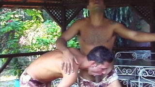 Gay Latinos Outdoor Movie