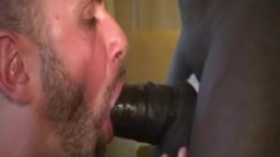 Huge Black Cock Fucking My Mouth