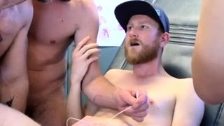 Gay sexy cute school boys First Time Saline Injection for