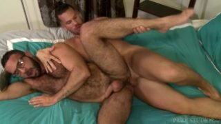 Hairy Uncut Latino Daddy Makes Up For It By Being Analized