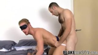 Stud Fraser Jacs fucking UK ass and throat before cumshot