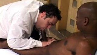 Gay chap likes fetish sex