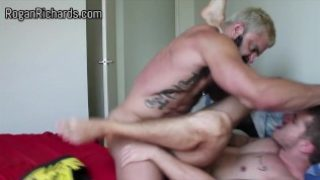 Rogan Richards fucks his mate Skippy Baxter hard