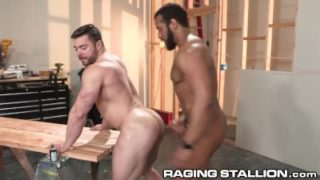 RagingStallion Raw Construction BBC Anal