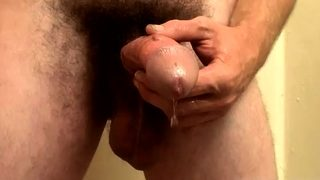 Sexy black gay boys dicks Hunter is new from the gym and loo