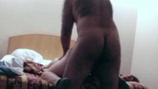 Hairy Man Fucks Twink