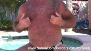 Daddy Jake Shores HOT TUB Scene