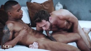 NoirMale – White guy gets double teamed by BBCs