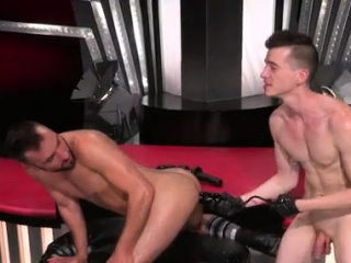 Nude gay guy getting fisted and en cum Aiden Woods is on